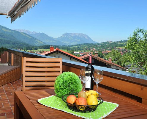 Kaiserwinkl Panorama Balkon Portfolio 495x400