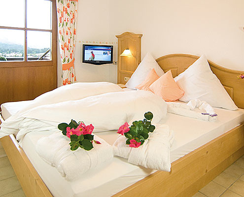 Fewo Kaiserwinkl Panorama, 2-4 Personen, zweites Schlafzimmer