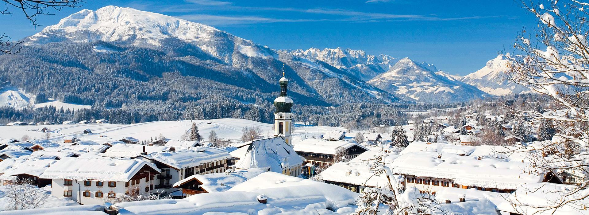 Reit im Winkl präsentiert sich in voller Winterpracht