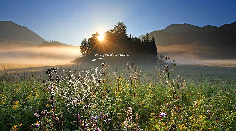 Weitsee, Sonnenaufgang