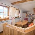 Fewo Kaiserwinkl Suite, 2 Personen, Küche mit Essraum