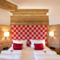 Schlafzimmer in 5-Sterne Ferienwohnung Kaiserwinkl Suite