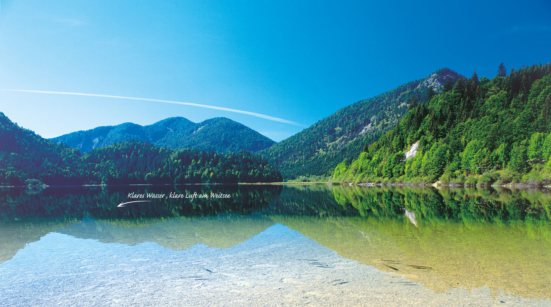 Badeurlaub im Chiemgau, Weitsee