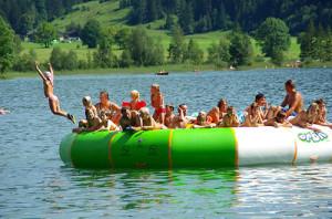 Ferienwohng Neumaier Reit im Winkl: Badespass am Walchsee im Chiemgau