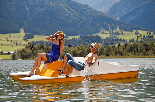 Badespass am Walchsee