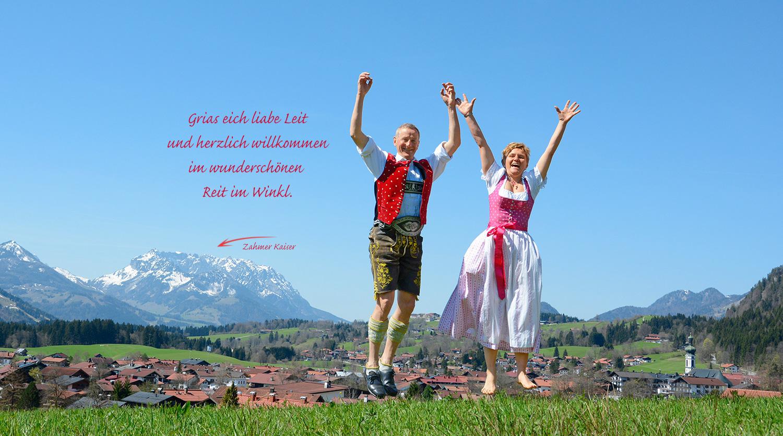Ferienwohnung Reit im Winkl, Christa und Michael Neumaier