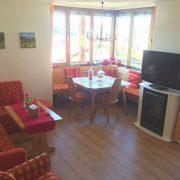 Ferienwohnung Reit im Winkl Kaiserwinkl Panorama mit neuen Holzboden