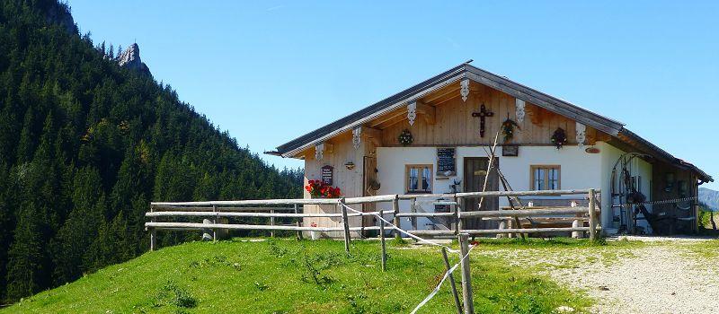 Jochbergalm in Reit im Winkl im Sommer
