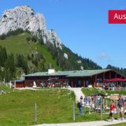 Sonnenalm unter Kampanwand mit Hütte und Familien im Wanderurlaub Chiemgau Oberbayern, Beitragsbild für Ausgebucht Ferienwohnung Neumaier Reit im Winkl